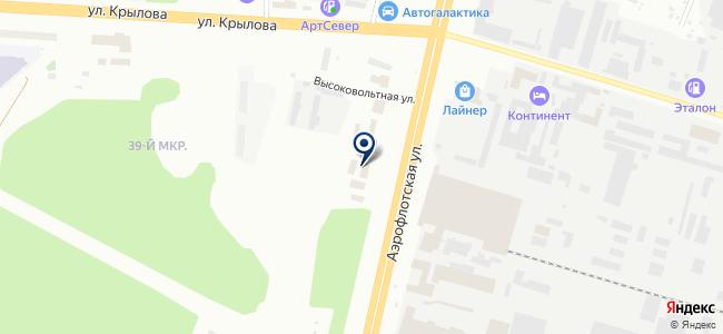 ЛЕДЕЛ Сургут, ООО на карте