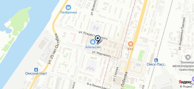 Сеть-Электро на карте