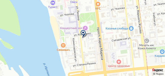 DECORO на карте