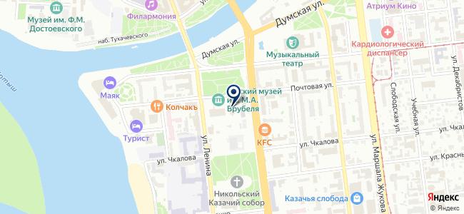 Аудит-Омскэнерго, ООО на карте