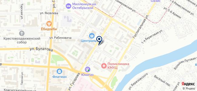 Инструмент центр на карте