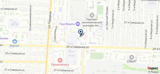 Регистр, ООО на карте