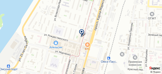 Омск-Инструмент, ООО на карте
