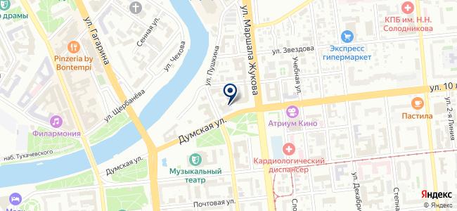 Сименс, ООО на карте