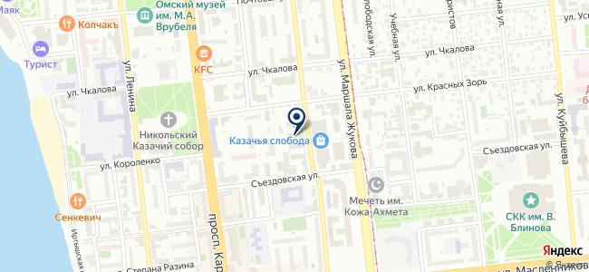 Техстройресурс, ЗАО на карте