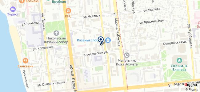Кулибин на карте