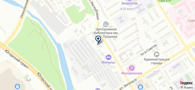 Авто-СМ на карте