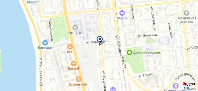 Тендер, ООО на карте