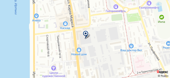 Яровой С.Н., ИП на карте