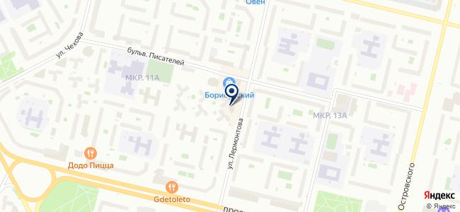 ИнтерСвет на карте