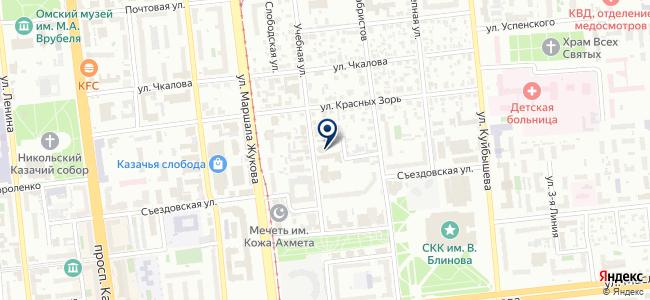 Промиум на карте