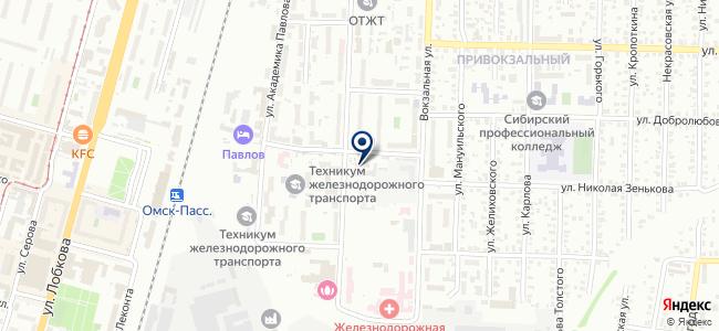 Омсксеть, ООО на карте