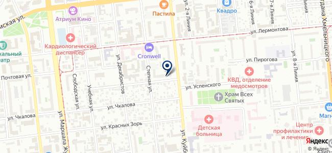 Шагалиева М.Н., ИП на карте