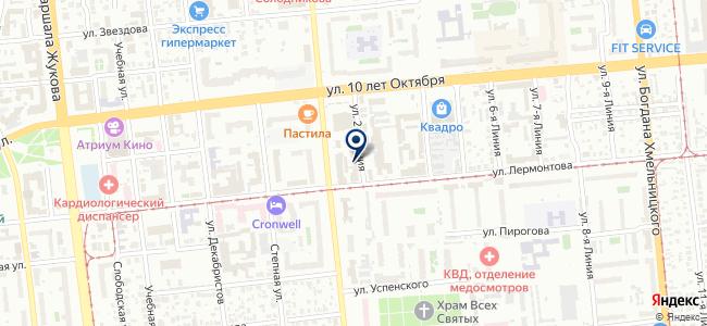 Электрострой на карте
