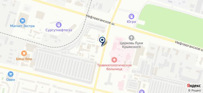 Магазин хозяйственных товаров и электротехники на карте