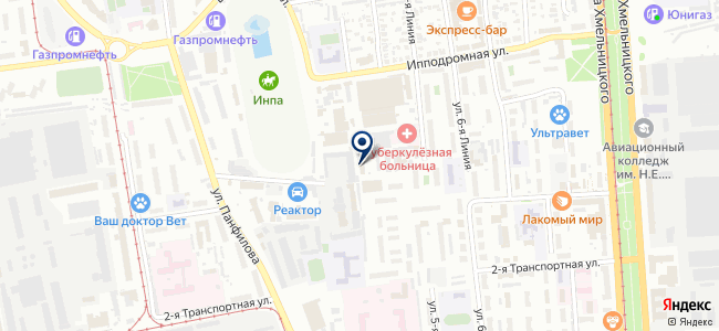 Электро Хим Защита, ООО на карте