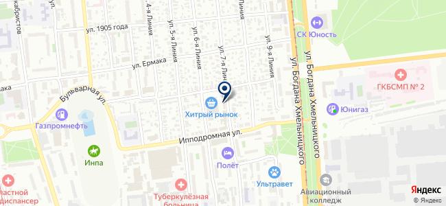 Магазин строительно-отделочных материалов и электротехники на карте