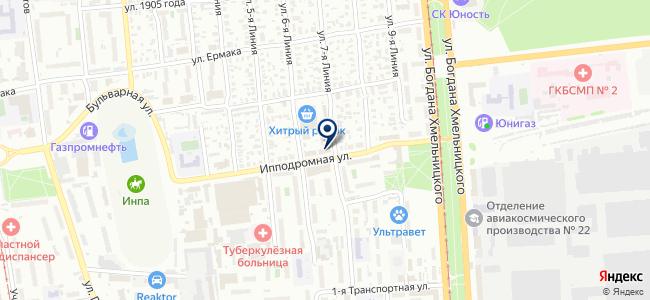 ТМК Инструмент на карте