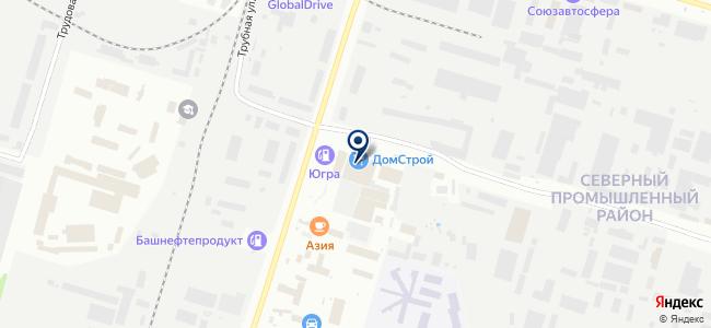 Югорские камины, ООО на карте