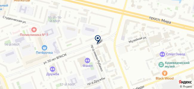 Профиндустрия, ООО на карте