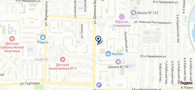 Транспорт, ООО на карте