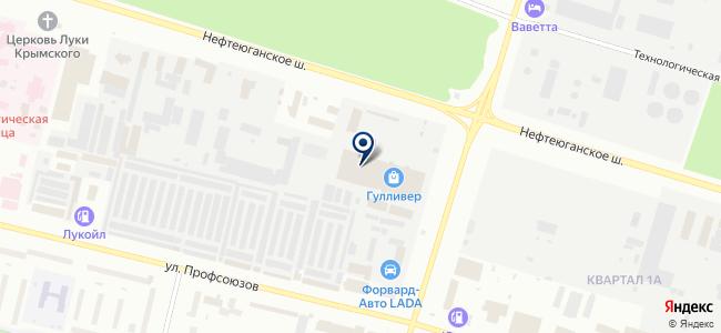 ПроДЕКОР на карте