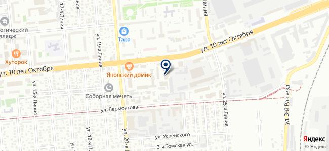 Ремонтный цех промышленного оборудования на карте
