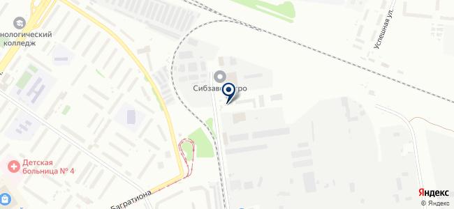 СибКомЭлектро на карте