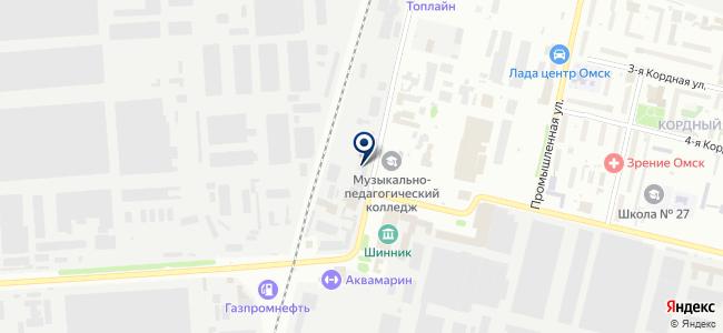 Тесла, ООО на карте