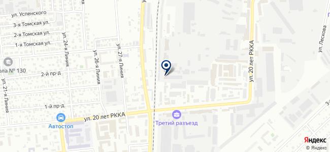 ЭС-ригель на карте