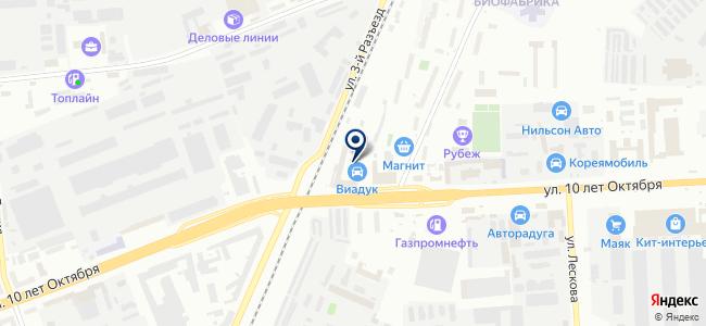Антарес, ООО на карте