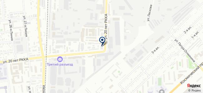 Ермак на карте