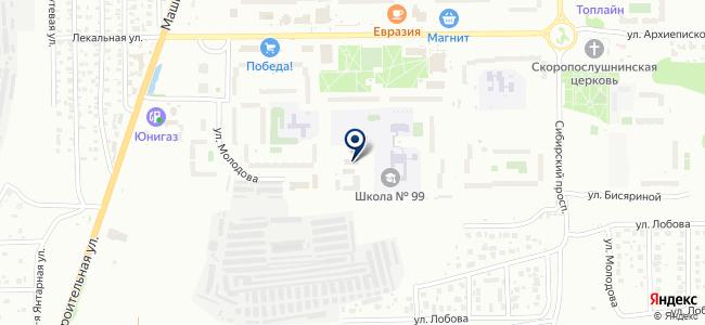 ЦЭКОС на карте