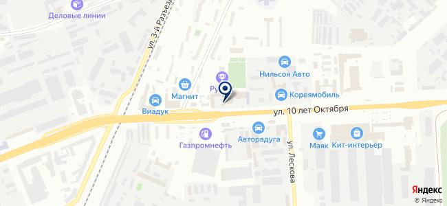 Щукин А.Н., ИП на карте