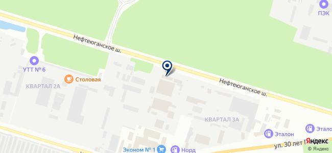 Валдим, ЗАО на карте