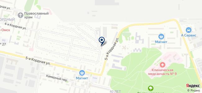 Аэрокомп-Омск, ООО на карте