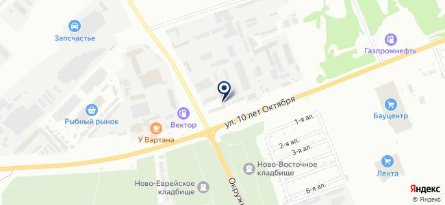 Диолд на карте