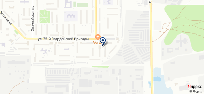 Магазин строительных товаров на карте