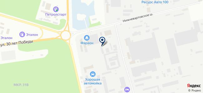Компания ЛЭП, ООО на карте
