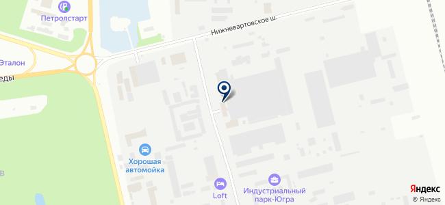 Сибпромстрой №30, ООО на карте