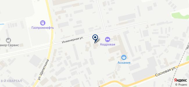 Теплоотдача, ООО на карте