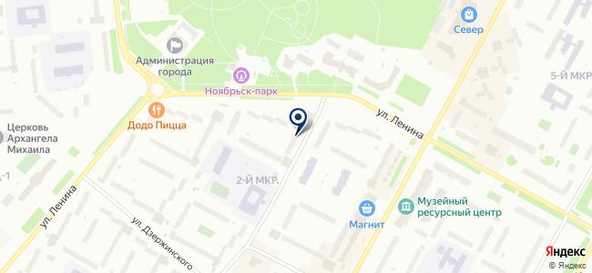 Метрика, ООО на карте