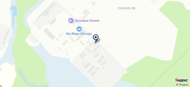 Градиент на карте