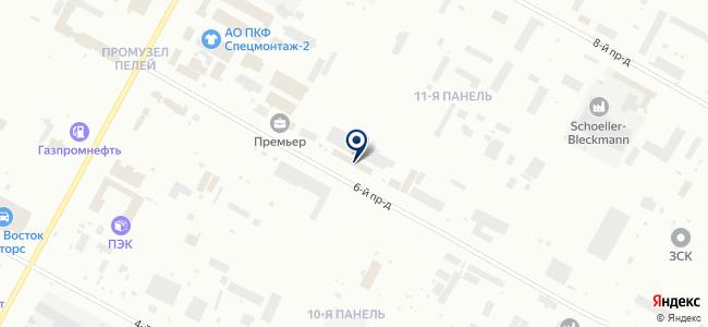 Снабуниверсал на карте