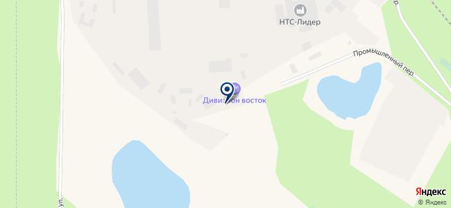 Управление материально-технического снабжения на карте
