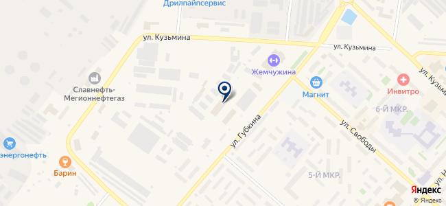 Теплоград, ООО на карте