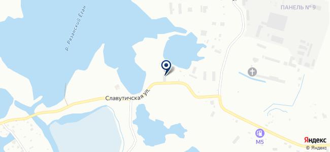 Нижневартовская светотехническая компания, ЗАО на карте