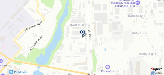 Нижневартовскэнергонефтьсервис, ООО на карте