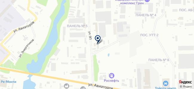 АТЦ-ГАЗ на карте