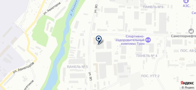 ПАТП №1, ООО на карте